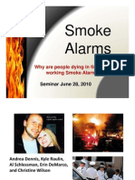 FFFS Smoke Detector Presentation - June, 2010