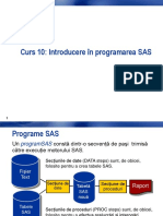 Programarea SAS