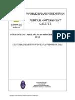 Pua 20121231 Larangan Export