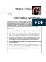 anchoring activities