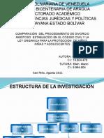 Comparacion Divorcio Lopnna y Cc