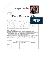 data retrieval chart