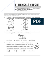 Mechanics Practice Papers 2