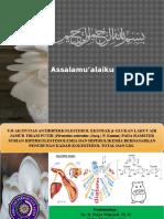 PPT UJI AKTIVITAS ANTIHIPERKOLESTEROL EKSTRAK β-GLUKAN LARUT AIR JAMUR TIRAM PUTIH (Pleurotus ostreatus (Jacq.) P. Kumm) PADA HAMSTER SYRIAN HIPERKOLESTEROLEMIA DAN HIPERGLIKEMIA BERDASARKAN PENURUNAN KADAR KOLESTEROL TOTAL DAN LDL
