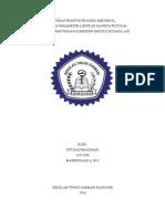 Laporan Praktikum 1 Kimia Medisinal