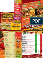 A4-8pp Booklet Paprika Grill House