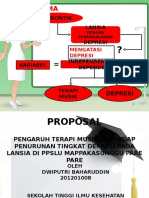 Presentase Proposal depresi lansia