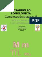 Completacion Silábica M
