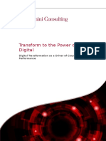 Transform to the Power of Digital Imp