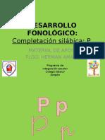 Completacion Silábica P