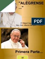 Papa Francisco - Alégrense