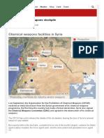 Syria's Chemical Weapons Stockpile - BBC News