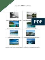 Daftar Nama Teluk Di Indonesia