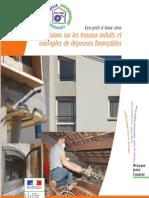 Eco-prêt à taux zéro Précisions sur les travaux induits et exemples de dépenses finançables
