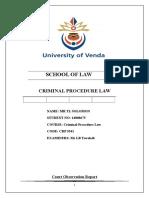 Crp 3541 Court Report.