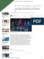 Adiós a Las Mallas_ Así Serán Los Nuevos Power Rangers - Engadget en Español