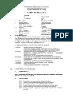 estatica organizacion semstral