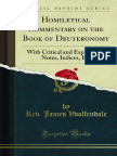 Homiletical Commentary on the Book of Deuteronomy 1000285173