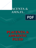 Placenta & Amniotic Fluid U/S