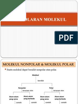 Kepolaran Molekul