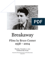 Films by Bruce Conner - Program Notes w.poster