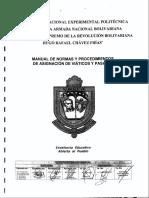 Manual de Normas y Procedimientos de Asignacion de Viaticos y Pasajes 2014
