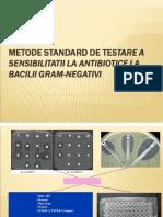 Metode Standard Testarea Sensibilitatii