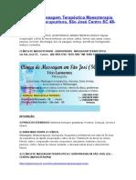 Clínica de Massagem Terapêutica Massoterapia Quiropraxia Acupuntura, São José Centro SC 48-3094-5746