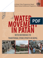 Water Movement Patan