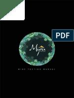 Myra Tasting Manual Final