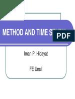 Method and Time Study