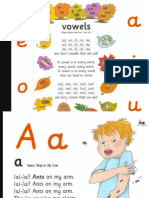 Vowels Song Slides