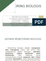 KELOMPOK 1 (Monitoring Biologis)