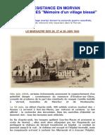 Le massacre de Dun-les-Places