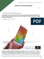 -Xiaomi Mi5Date de Sortie Prix Et Fiche Technique