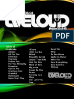 Liveloud Songboard