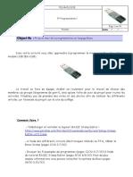 PDF TP H Programmation Langue Basic