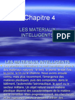 MATERIAUX INTELLIGENTS