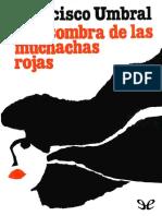 A La Sombra de Las Muchachas Ro - Francisco Umbral