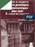 Cours Pratique de Meca Sol- Costet Sanglerat Tome2 Red