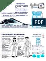 Flayer Kit Antiséptico Bio Botiquín AyDoAgua.com