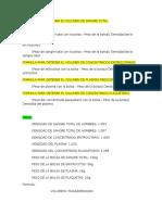 Formula Para Obtener El Volumen de Hemocomponentes