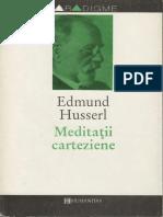 Edmund Husserl - Meditatii carteziene.pdf