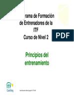 Programa de Entrenamiento ITF Nivel 2