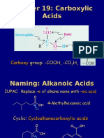 9. Carboxylic Acids
