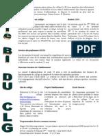 Bulletin d'information hebdomadaire du collège Reynerie - 10 mai 2010