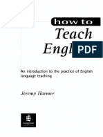 How To Teach English Jeremy Harmer 2007 Pdf