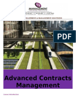 Advanced Contracts Management