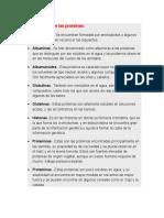Características de Las Proteínas