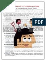 Cuestionario Etica Escobar
